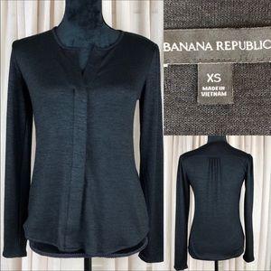 Banana Republic Charcoal/black Sweater